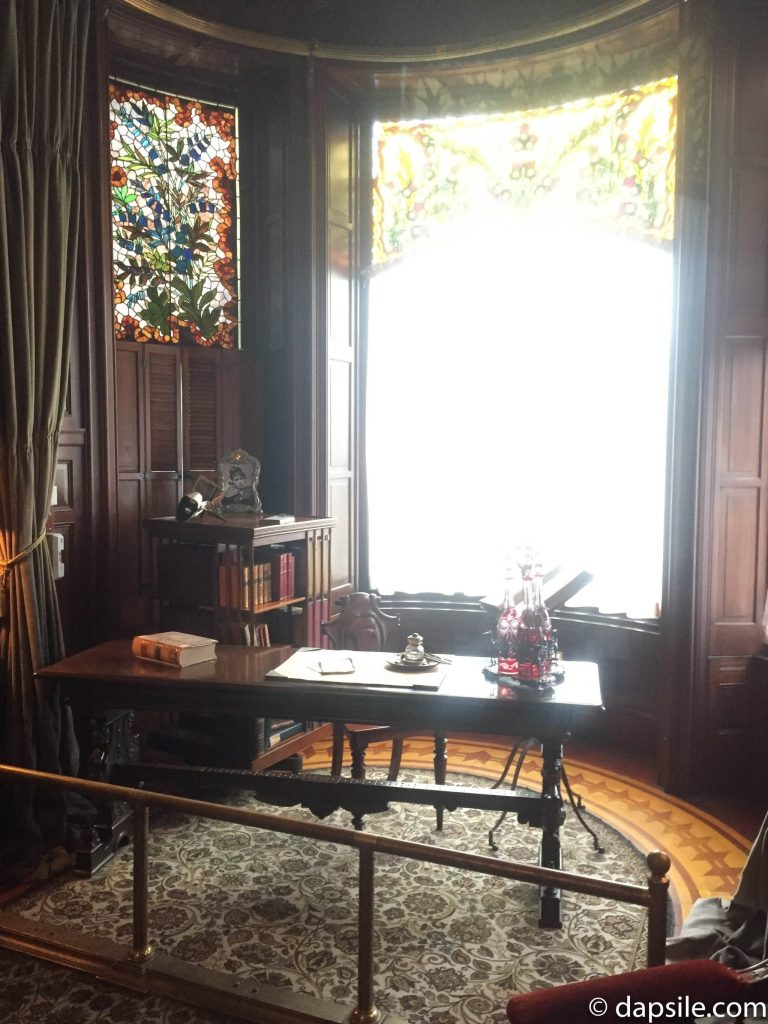 Inside the Library at Craigdarroch Castle
