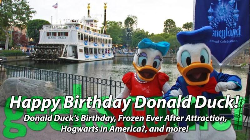 Happy Birthday Donald Duck! - Geeks Corner - Episode 436