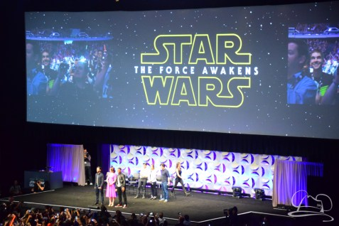 Star Wars The Force Awakens Panel Star Wars Celebration Anaheim-38