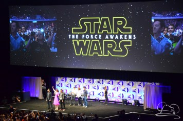 Star Wars The Force Awakens Panel Star Wars Celebration Anaheim-40