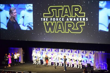 Star Wars The Force Awakens Panel Star Wars Celebration Anaheim-63