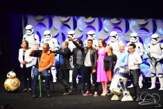 Star Wars The Force Awakens Panel Star Wars Celebration Anaheim-90