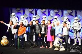 Star Wars The Force Awakens Panel Star Wars Celebration Anaheim-92