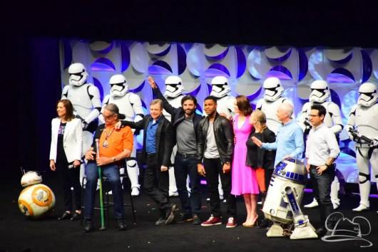 Star Wars The Force Awakens Panel Star Wars Celebration Anaheim-93