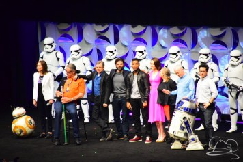 Star Wars The Force Awakens Panel Star Wars Celebration Anaheim-94