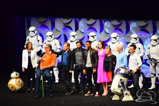 Star Wars The Force Awakens Panel Star Wars Celebration Anaheim-97