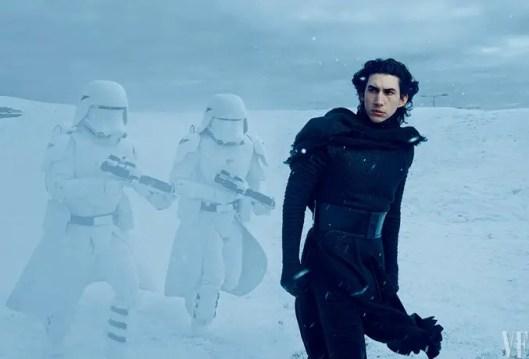 Star Wars: The Force Awakens - Adam Driver as Kylo Ren