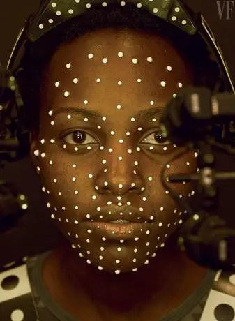 Star Wars: The Force Awakens - Lupita Nyong'o Motion Capture as Maz Kanata