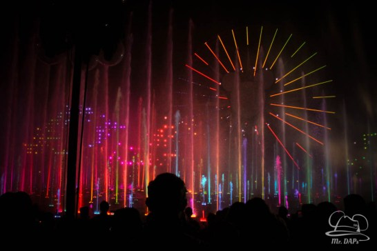 Disneyland 60th Anniversary Celebration World of Color - Celebrate-163