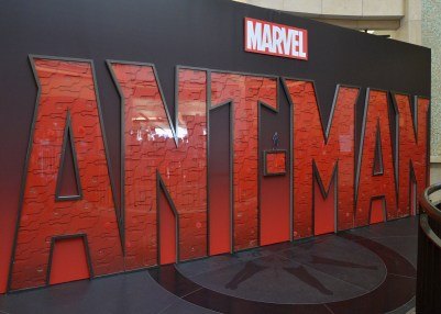 "LOS ANGELES, CA - JUNE 29: A view of the atmosphere at the world premiere of Marvel's ""Ant-Man"" at The Dolby Theatre on June 29, 2015 in Los Angeles, California. (Photo by Charley Gallay/Getty Images)"
