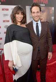 "LOS ANGELES, CA - JUNE 29: Actors Evangeline Lilly (L) and Paul Rudd attend the world premiere of Marvel's ""Ant-Man"" at The Dolby Theatre on June 29, 2015 in Los Angeles, California. (Photo by Charley Gallay/Getty Images) *** Local Caption *** Evangeline Lilly;Paul Rudd"