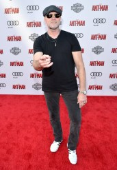 """LOS ANGELES, CA - JUNE 29: Actor Michael Rooker attends the world premiere of Marvel's """"Ant-Man"""" at The Dolby Theatre on June 29, 2015 in Los Angeles, California. (Photo by Charley Gallay/Getty Images) *** Local Caption *** Michael Rooker"""