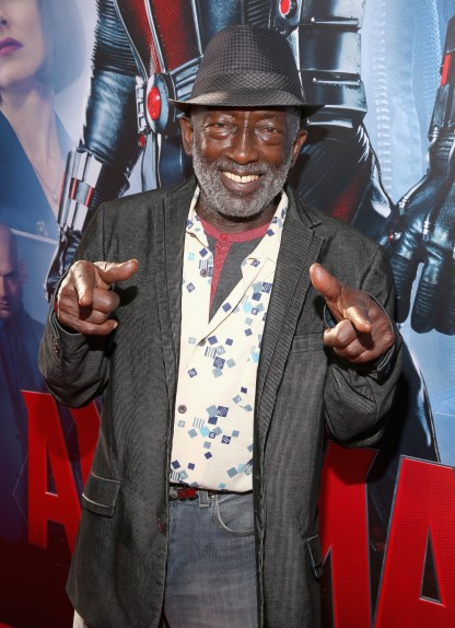 "LOS ANGELES, CA - JUNE 29: Actor Garrett Morris attends the world premiere of Marvel's ""Ant-Man"" at The Dolby Theatre on June 29, 2015 in Los Angeles, California. (Photo by Jesse Grant/Getty Images for Disney) *** Local Caption *** Garrett Morris"