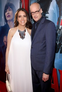 """LOS ANGELES, CA - JUNE 29: Director Peyton Reed (R) and guest attend the world premiere of Marvel's """"Ant-Man"""" at The Dolby Theatre on June 29, 2015 in Los Angeles, California. (Photo by Jesse Grant/Getty Images for Disney) *** Local Caption *** Peyton Reed"""