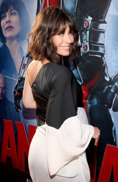 "LOS ANGELES, CA - JUNE 29: Actres Evangeline Lilly attends the world premiere of Marvel's ""Ant-Man"" at The Dolby Theatre on June 29, 2015 in Los Angeles, California. (Photo by Jesse Grant/Getty Images for Disney) *** Local Caption *** Evangeline Lilly"