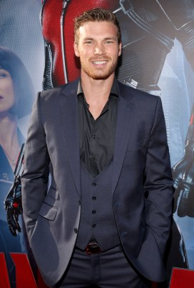"""LOS ANGELES, CA - JUNE 29: Actor Derek Theler attends the world premiere of Marvel's """"Ant-Man"""" at The Dolby Theatre on June 29, 2015 in Los Angeles, California. (Photo by Jesse Grant/Getty Images for Disney) *** Local Caption *** Derek Theler"""