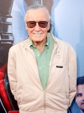 """LOS ANGELES, CA - JUNE 29: Comic book icon Stan Lee attends the world premiere of Marvel's """"Ant-Man"""" at The Dolby Theatre on June 29, 2015 in Los Angeles, California. (Photo by Jesse Grant/Getty Images for Disney) *** Local Caption *** Stan Lee"""
