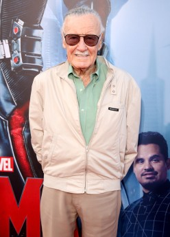 "LOS ANGELES, CA - JUNE 29: Comic book icon Stan Lee attends the world premiere of Marvel's ""Ant-Man"" at The Dolby Theatre on June 29, 2015 in Los Angeles, California. (Photo by Jesse Grant/Getty Images for Disney) *** Local Caption *** Stan Lee"