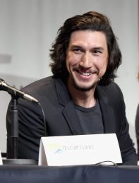 SAN DIEGO, CA - JULY 10: Actor Adam Driver at the Hall H Panel for `Star Wars: The Force Awakens` during Comic-Con International 2015 at the San Diego Convention Center on July 10, 2015 in San Diego, California. (Photo by Michael Buckner/Getty Images for Disney) *** Local Caption *** Adam Driver