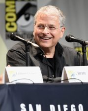 SAN DIEGO, CA - JULY 10: Screenwriter Lawrence Kasdan at the Hall H Panel for `Star Wars: The Force Awakens` during Comic-Con International 2015 at the San Diego Convention Center on July 10, 2015 in San Diego, California. (Photo by Michael Buckner/Getty Images for Disney) *** Local Caption *** Lawrence Kasdan