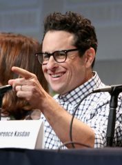 SAN DIEGO, CA - JULY 10: Director J.J. Abram at the Hall H Panel for `Star Wars: The Force Awakens` during Comic-Con International 2015 at the San Diego Convention Center on July 10, 2015 in San Diego, California. (Photo by Jesse Grant/Getty Images for Disney) *** Local Caption *** J.J. Abrams