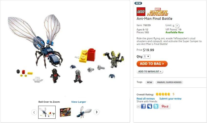 Lego Ant man