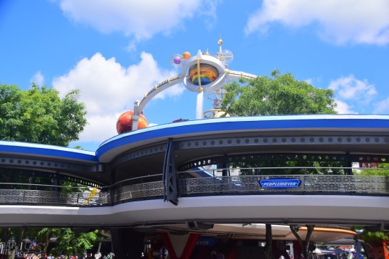 PeopleMover at Magic Kingdom