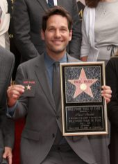 Actor Paul Rudd Honored With A Star On The Hollywood Walk Of Fame