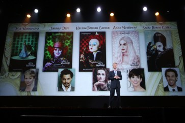 "ANAHEIM, CA - AUGUST 15: President of Walt Disney Studios Motion Picture Production Sean Bailey took part today in ""Worlds, Galaxies, and Universes: Live Action at The Walt Disney Studios"" presentation at Disney's D23 EXPO 2015 in Anaheim, Calif. ALICE THROUGH THE LOOKING GLASS will be released in U.S. theaters on May 27, 2016. (Photo by Jesse Grant/Getty Images for Disney) *** Local Caption *** Sean Bailey"