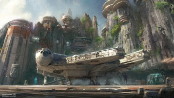 Star Wars-Themed Lands Coming to Disney Parks – Walt Disney Company Chairman and CEO Bob Iger announced at D23 EXPO 2015 that Star Wars-themed lands will be coming to Disneyland park in Anaheim, Calif., and Disney's Hollywood Studios in Orlando, Fla., creating Disney's largest single-themed land expansions ever at 14-acres each, transporting guests to a never-before-seen planet, a remote trading port and one of the last stops before wild space where Star Wars characters and their stories come to life. These authentic lands will have two signature attractions, including the ability to take the controls of one of the most recognizable ships in the galaxy, the Millennium Falcon, on a customized secret mission, and an epic Star Wars adventure that puts guests in the middle of a climactic battle. (Disney Parks