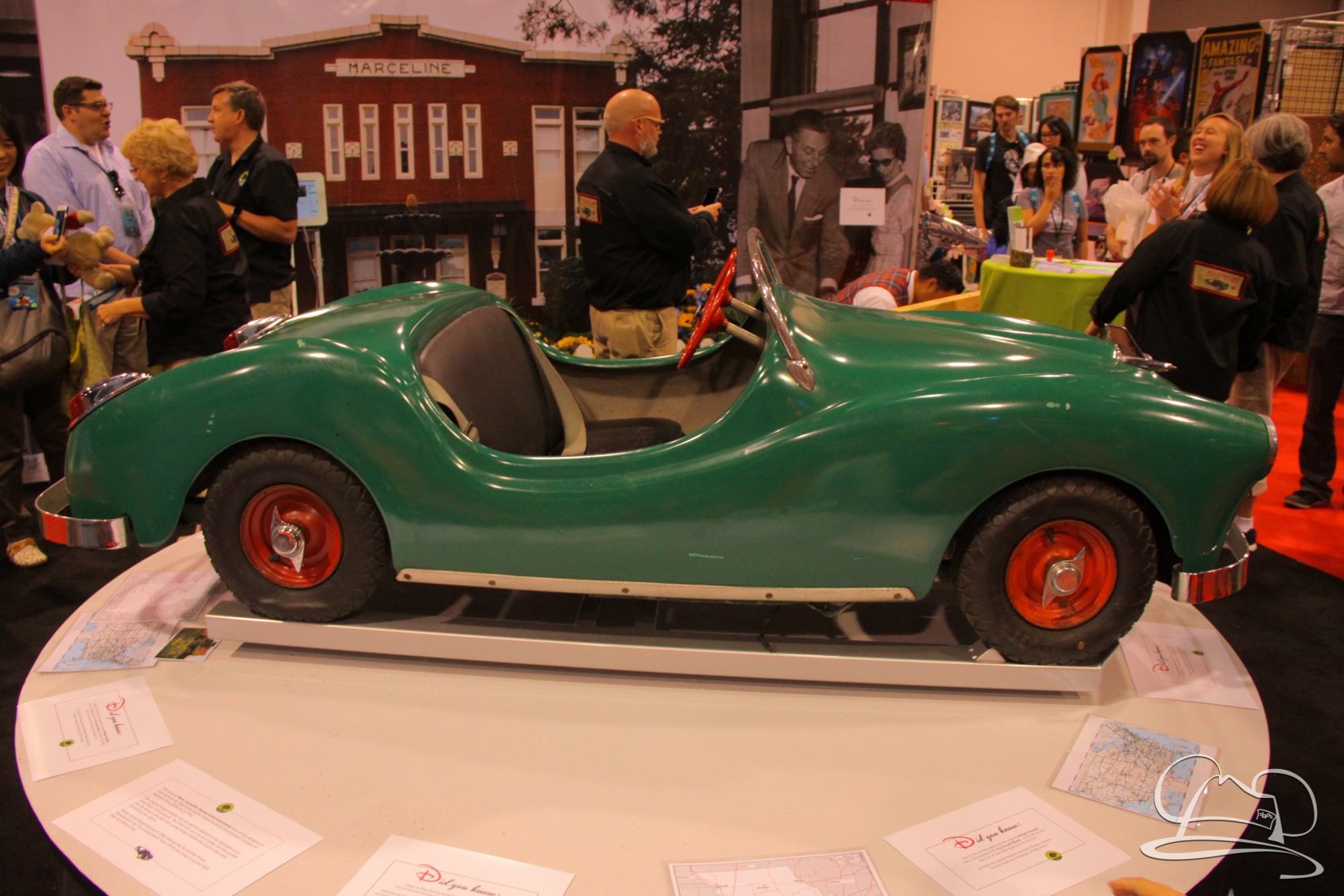 Autopia Car - D23 Expo - The Walt Disney Hometown Museum