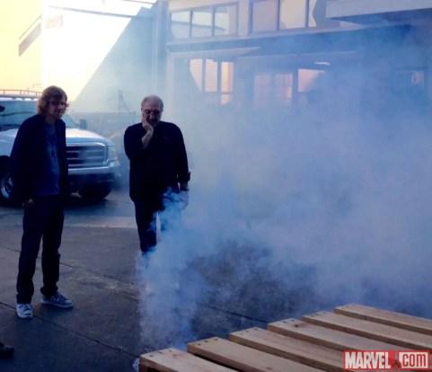 Marvel's Agents of S.H.I.E.L.D. Season Three Production Photo