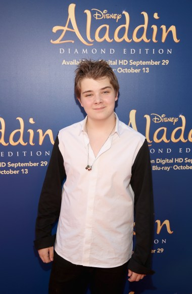 "BURBANK, CA - SEPTEMBER 27: Actor Murray Wyatt Rundus attends a special LA screening celebrating Diamond Edition release of ""ALADDIN"" at The Walt Disney Studios on September 27, 2015 in Burbank, California. (Photo by Jesse Grant/Getty Images for Disney) *** Local Caption *** Murray Wyatt Rundus"