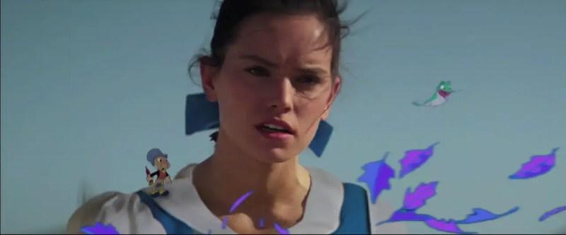 Star Wars: The Force Awakens - Disney Mashup