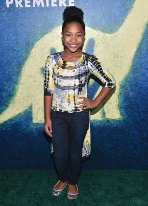 HOLLYWOOD, CA - NOVEMBER 17: Actress Laya DeLeon Hayes attends the World Premiere Of Disney-Pixar's THE GOOD DINOSAUR at the El Capitan Theatre on November 17, 2015 in Hollywood, California. (Photo by Alberto E. Rodriguez/Getty Images for Disney) *** Local Caption *** Laya DeLeon Hayes