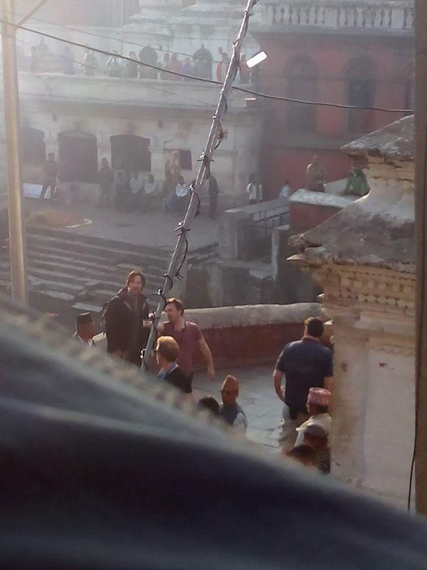 Benedict Cumberbatch Set Photo from Marvel's Doctor Strange