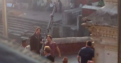 Benedict Cumberbatch Set Photo from Marvel's Doctor Strange