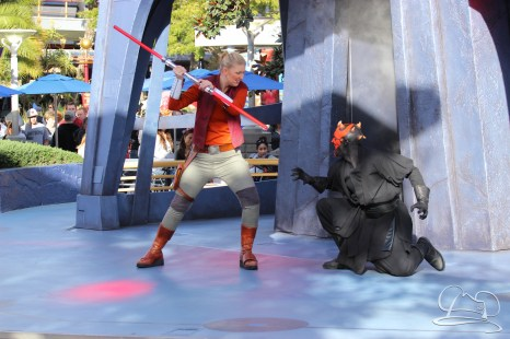 Jedi Training Trials of the Temple Disneyland-107