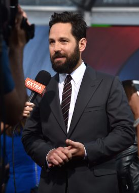 "HOLLYWOOD, CALIFORNIA - APRIL 12: Actor Paul Rudd attends The World Premiere of Marvel's ""Captain America: Civil War"" at Dolby Theatre on April 12, 2016 in Los Angeles, California. (Photo by Lester Cohen/Getty Images for Disney) *** Local Caption *** Paul Rudd"