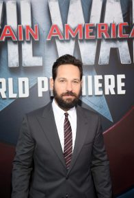 "HOLLYWOOD, CALIFORNIA - APRIL 12: Actor Paul Rudd attends The World Premiere of Marvel's ""Captain America: Civil War"" at Dolby Theatre on April 12, 2016 in Los Angeles, California. (Photo by Jesse Grant/Getty Images for Disney) *** Local Caption *** Paul Rudd"