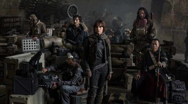 Rogue One: A Star Wars Story Cast Photo