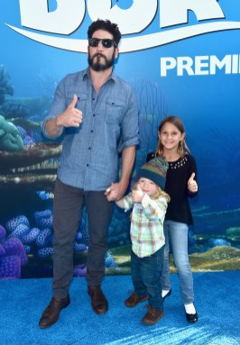 HOLLYWOOD, CA - JUNE 08: Actor Jon Bernthal (L) and guests attend The World Premiere of Disney-Pixar's FINDING DORY on Wednesday, June 8, 2016 in Hollywood, California. (Photo by Alberto E. Rodriguez/Getty Images for Disney) *** Local Caption *** Jon Bernthal