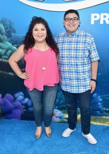 HOLLYWOOD, CA - JUNE 08: Actors Raini Rodriguez (L) and Rico Rodriguez attend The World Premiere of Disney-Pixar's FINDING DORY on Wednesday, June 8, 2016 in Hollywood, California. (Photo by Alberto E. Rodriguez/Getty Images for Disney) *** Local Caption *** Raini Rodriguez; Rico Rodriguez