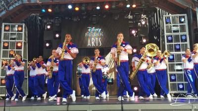 Disneyland Resort All-American College Band - Hollywood Backlot Stage