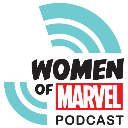 WomenofMarvelPodcastLogo
