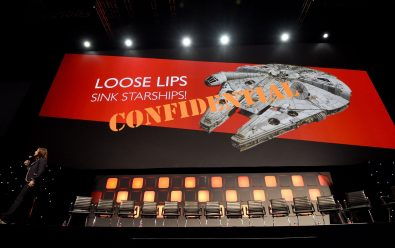 LONDON, ENGLAND - JULY 15: A general view of the stage during the Rogue One Panel at the Star Wars Celebration 2016 at ExCel on July 15, 2016 in London, England. (Photo by Ben A. Pruchnie/Getty Images for Walt Disney Studios)