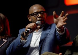 LONDON, ENGLAND - JULY 15: Forest Whitaker on stage during the Rogue One Panel at the Star Wars Celebration 2016 at ExCel on July 15, 2016 in London, England. (Photo by Ben A. Pruchnie/Getty Images for Walt Disney Studios) *** Local Caption *** Forest Whitaker