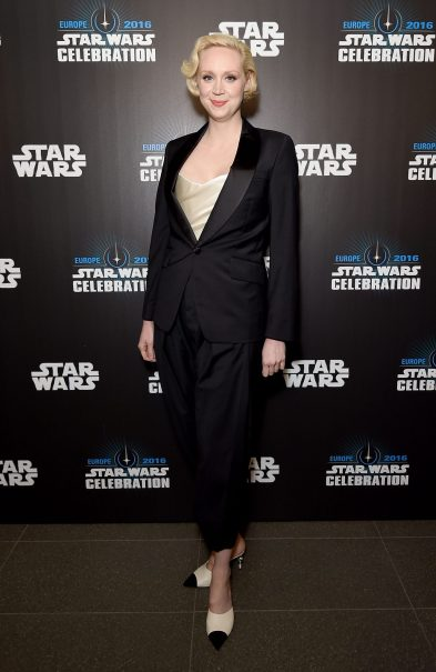 LONDON, ENGLAND - JULY 15: Gwendoline Christie attends the Star Wars Celebration 2016 at ExCel on July 15, 2016 in London, England. (Photo by Ben A. Pruchnie/Getty Images for Walt Disney Studios) *** Local Caption *** Gwendoline Christie