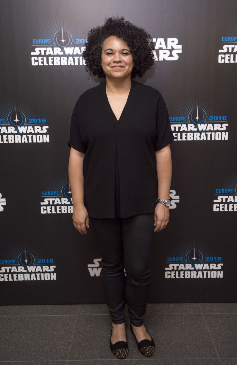 LONDON, ENGLAND - JULY 15: Kiri Hart attends the Star Wars Celebration 2016 at ExCel on July 15, 2016 in London, England. (Photo by Ben A. Pruchnie/Getty Images for Walt Disney Studios) *** Local Caption *** Kiri Hart