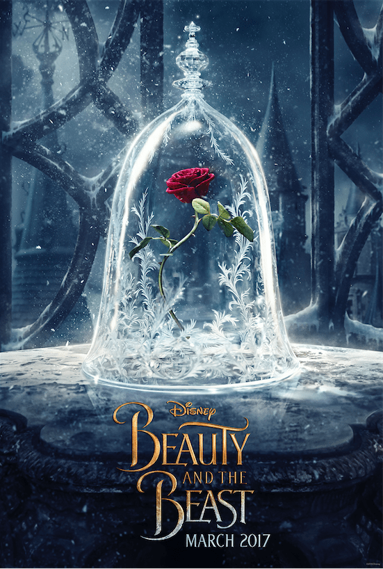 Beauty and the Beast Teaser One Sheet Poster